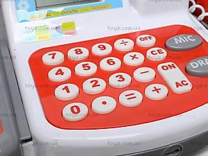 Кассовый аппарат со звуковыми эффектами, 5623A, детские игрушки