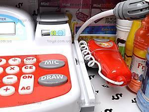 Кассовый аппарат со звуковыми эффектами, 5623A, магазин игрушек