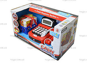 Игрушечный кассовый аппарат с микрофоном, 8088A-1, купить