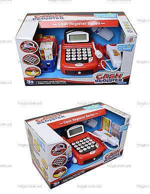 Игрушечный кассовый аппарат с микрофоном, 8088A-1