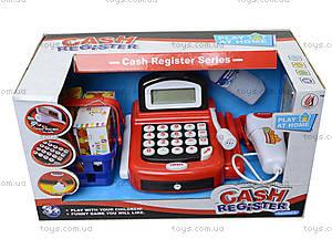 Игрушечный кассовый аппарат с микрофоном, 8088A-1, цена