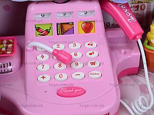 Игрушечный кассовый аппарат с набором продуктов, DN889, купить
