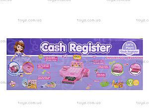 Игрушечный кассовый аппарат с набором продуктов, DN889, детские игрушки