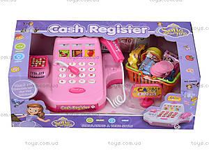 Игрушечный кассовый аппарат с набором продуктов, DN889, магазин игрушек