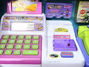 Кассовый аппарат и тележка «Магазин», 7562B, фото