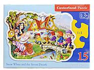 Пазл Castorland на 15 деталей «Белоснежка», В-015085, купить