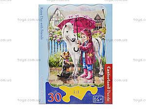 Пазл Castorland на 30 деталей «Дождливый день», 426, фото