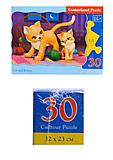 Кастор-пазлы «Кошка и котёнок», B-03709, купить