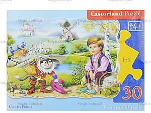 Пазл Castorland на 30 деталей «Кот в сапогах», 150, фото