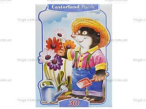Пазл на 30 деталей «Крот-садовод», В-03082, купить