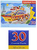 Пазлы Castorland 30 «Экскурсия по Парижу на корабле», В-03624