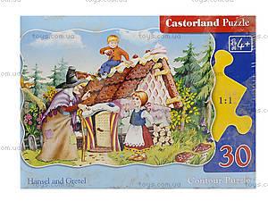 Пазл Castorland на 30 деталей «Пряничный домик», 4, фото