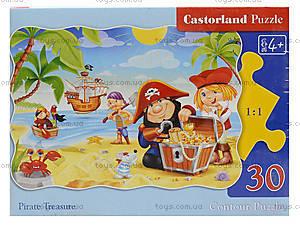 Пазл Castorland на 30 деталей «Пиратские сокровища», В-03488, фото