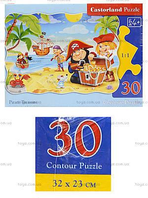 Пазл Castorland на 30 деталей «Пиратские сокровища», В-03488