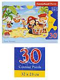 Пазл Castorland на 30 деталей «Пиратские сокровища», В-03488, отзывы