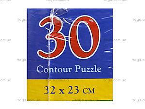 Пазл на 30 деталей «Строим дом», B-03198, отзывы