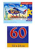 Пазлы Castorland 60 «Путешествие на вертолете», В-066063