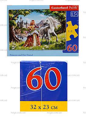 Пазл Castorland на 60 деталей «Принцесса», В-06830