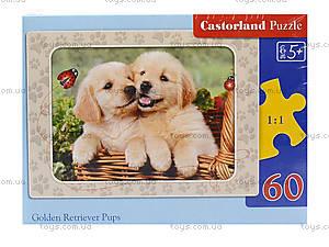 Пазл Castorland на 60 деталей «Собачки», 786, фото