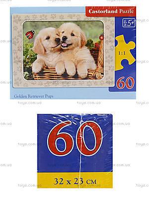 Пазл Castorland на 60 деталей «Собачки», 786