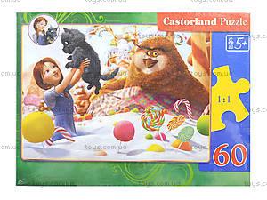 Пазл Castorland на 60 деталей «Сладкоежки», 246, фото