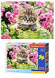 Пазлы «Котенок в цветочном саду», В-111039, отзывы
