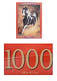 Пазлы Castorland 1000 «Скакун», С-103690, отзывы