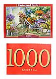 Цветочный рынок 1000 элементов, С-103898, фото