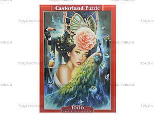 Пазл Castorland на 1000 деталей «Дама с павлином», 3195, фото