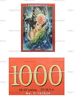 Пазл Castorland на 1000 деталей «Дама с павлином», 3195