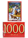 Пазл Castorland на 1000 деталей «Большие кошки», С-103553, фото