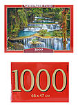 Кастор пазлы 1000 «Каскад», С-103782, отзывы