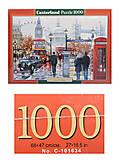 Пазл Castorland на 1000 деталей «Лондонский коллаж», С-103140, купить