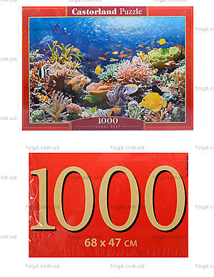 Пазл на 1000 деталей «Коралловый риф», С-101511