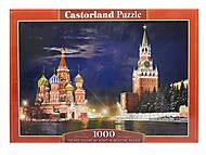 Пазл на 1000 деталей «Красная Площадь, Москва», С-101788, купить