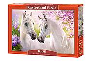 """Пазлы """"Влюблённые лошади"""", 1000 эл., C-104147"""