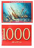 Кастор пазлы 1000 «Морское сокровище», С-103805, отзывы