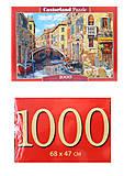 Кастор пазлы 1000 «Отражение Венеции», С-103683, купить