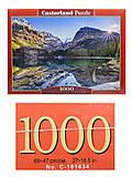 Пазл Castorland на 1000 деталей «Озеро О'Хара, Канада», С-103638