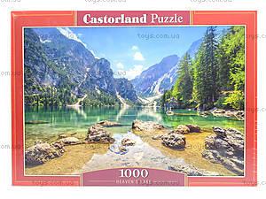 Пазлы Castorland на 1000 деталей «Озеро в горах», С-103416, фото