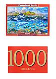 Кастор пазлы «Панорама океана», С-104017, фото