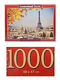 Пазл Castorland на 1000 деталей «Осень в Париже», С-103089
