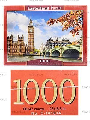 Пазл Castorland на 1000 деталей «Сердце Лондона», С-103096