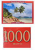 Кастор пазлы 1000 «Сейшелы», С-103713, отзывы