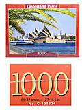 Пазл Castorland на 1000 деталей «Сиднейский оперный театр», С-103003