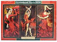 Пазл Castorland на 1000 деталей «Танцы», 3119, купить
