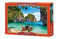 """Пазлы """"Пхи-Пхи-Ле, Таиланд"""", 1000 эл., C-104154, фото"""