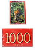 Кастор пазлы 1000 «Тигр в джунглях», С-103935