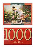 Пазл Castorland на 1000 деталей «В розовом саду», 3126, фото