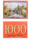 Пазл на 1000 деталей «Водяная мельница», С-101634, отзывы